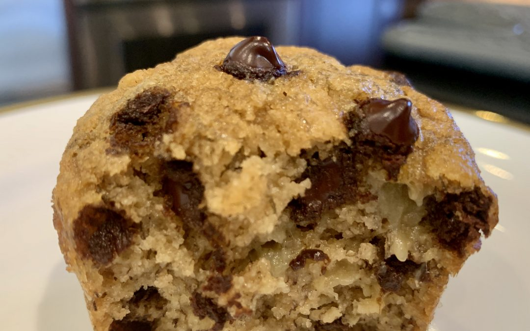 Chocolate Chip Banana Muffins – Grain free