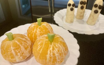 Clementine Pumpkins and Banana Ghosts
